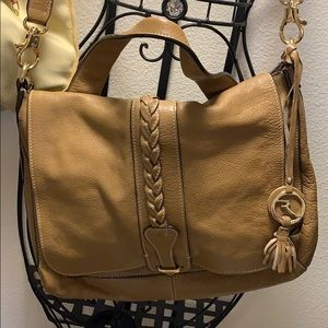 Brown Varriale leather handbag